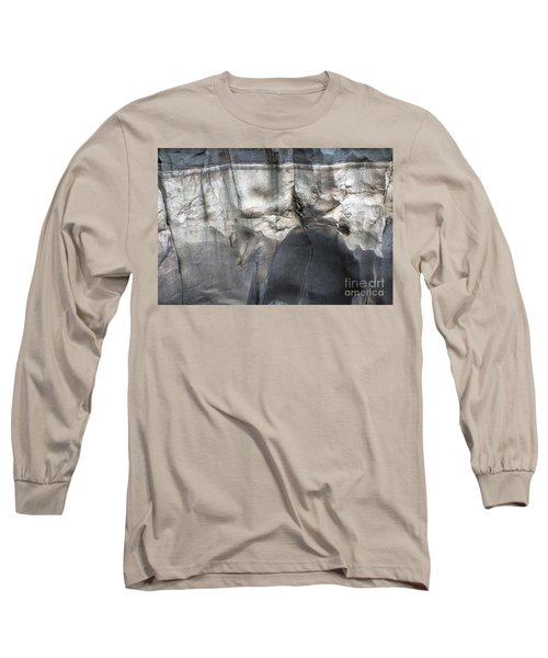 High Water Mark Rock Art By Kaylyn Franks Long Sleeve T-Shirt