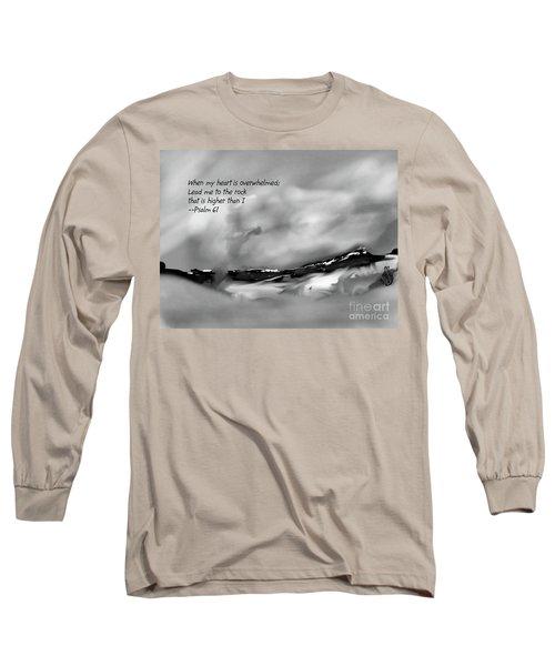Higher Than I Long Sleeve T-Shirt