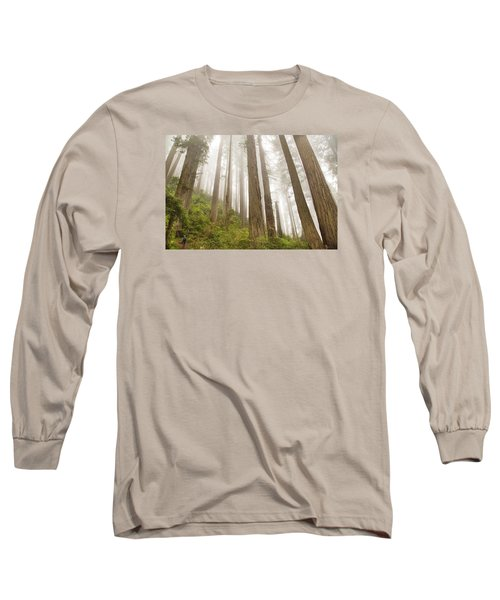 Hike Through The Redwoods Long Sleeve T-Shirt