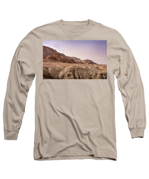 Hills By The Dead Sea Long Sleeve T-Shirt