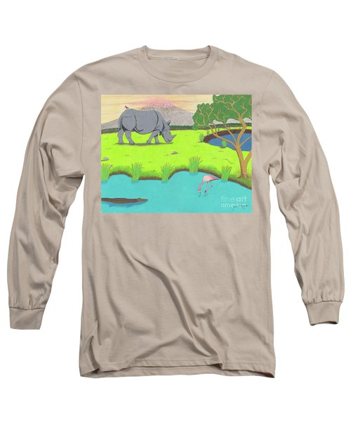 His Backward Glance Long Sleeve T-Shirt