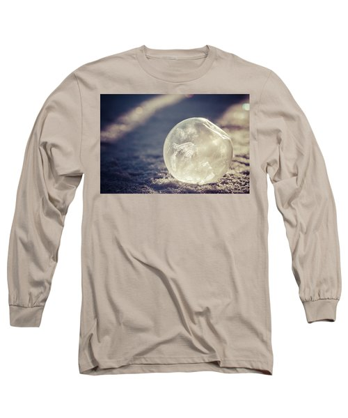 Long Sleeve T-Shirt featuring the photograph His Heart Was Always Warm by Yvette Van Teeffelen