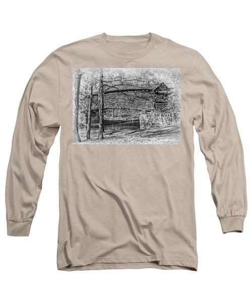 Historic Bridge Long Sleeve T-Shirt