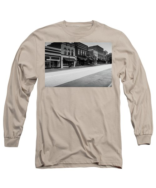 Historic Buford Downtown Area Long Sleeve T-Shirt