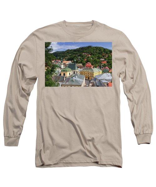 Historic Mining Town Banska Stiavnica, Slovakia Long Sleeve T-Shirt