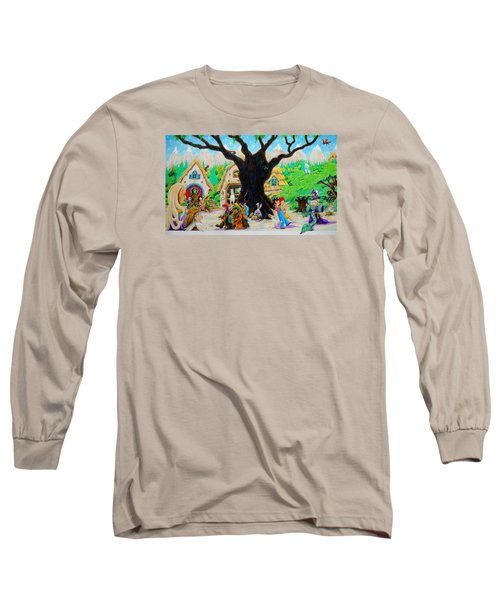 Hobbit Land Long Sleeve T-Shirt by Matt Konar