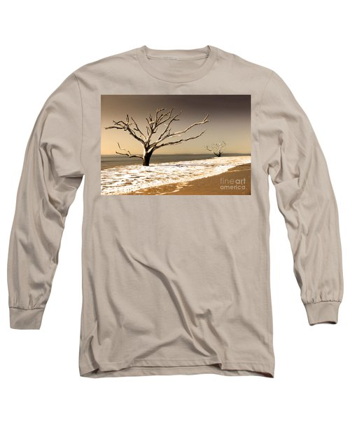Long Sleeve T-Shirt featuring the photograph Hold The Line by Dana DiPasquale