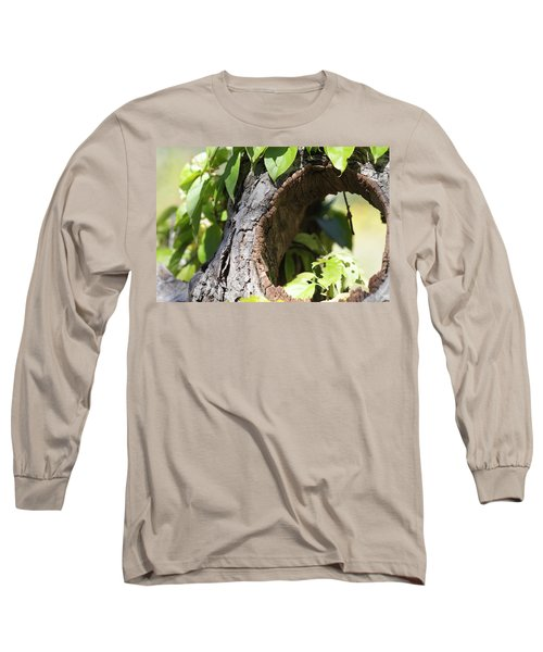 Hole Long Sleeve T-Shirt