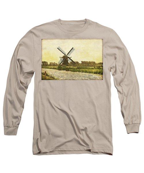 Holland - Windmill Long Sleeve T-Shirt