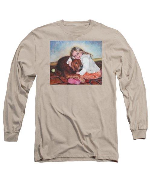 Hollis And Hannah - Cropped Version Long Sleeve T-Shirt