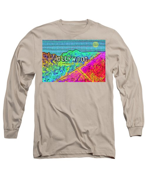 Hollycolorwood Long Sleeve T-Shirt by Jeremy Aiyadurai