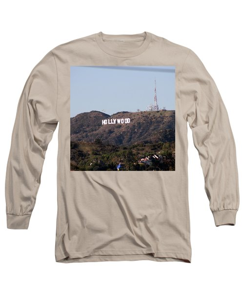 Hollywood And Helicopters Long Sleeve T-Shirt