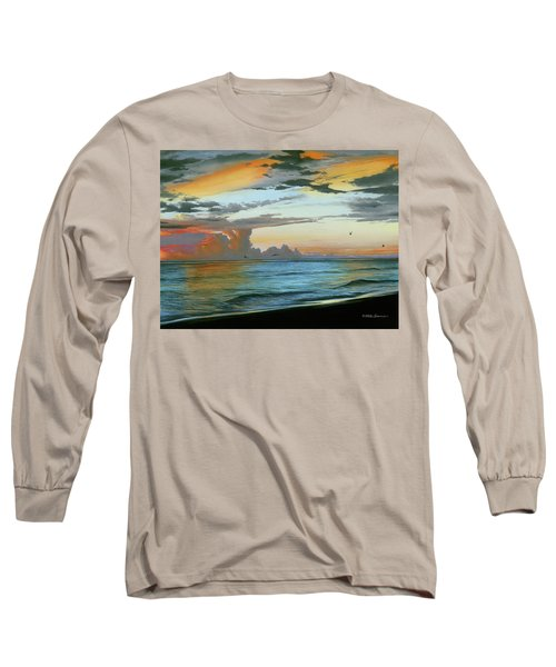 Holmes Beach Long Sleeve T-Shirt