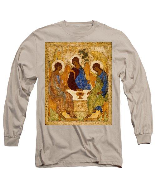 Holy Trinity. Troitsa Long Sleeve T-Shirt