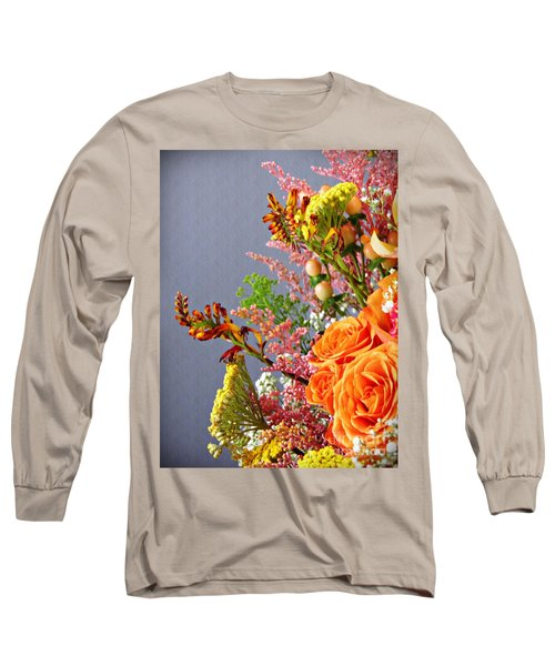 Long Sleeve T-Shirt featuring the photograph Holy Week Flowers 2017 3 by Sarah Loft