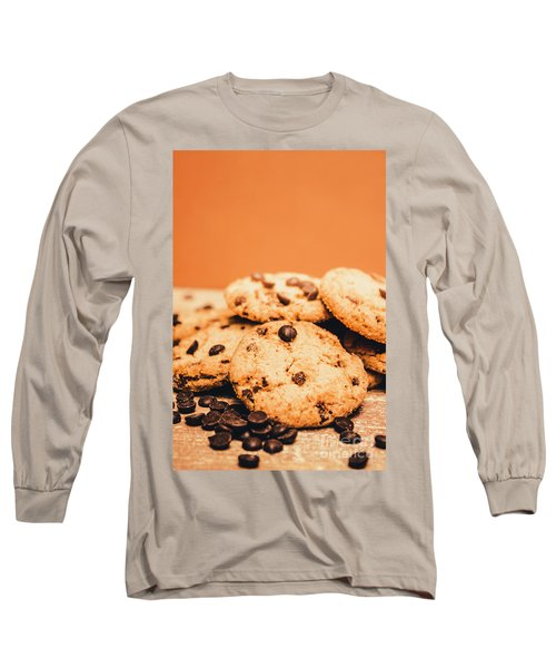 Home Baked Chocolate Biscuits Long Sleeve T-Shirt