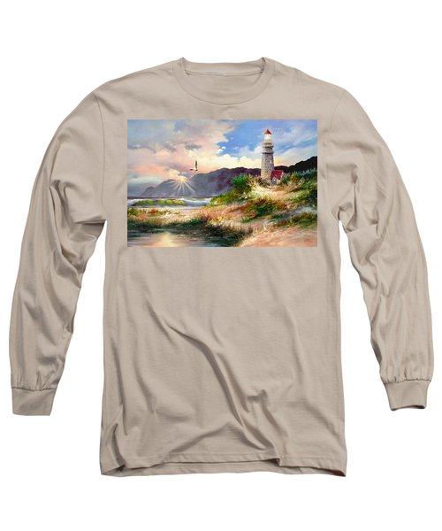 Home For The Night Long Sleeve T-Shirt