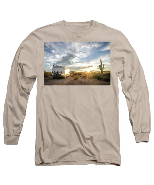 Home In The Desert Long Sleeve T-Shirt