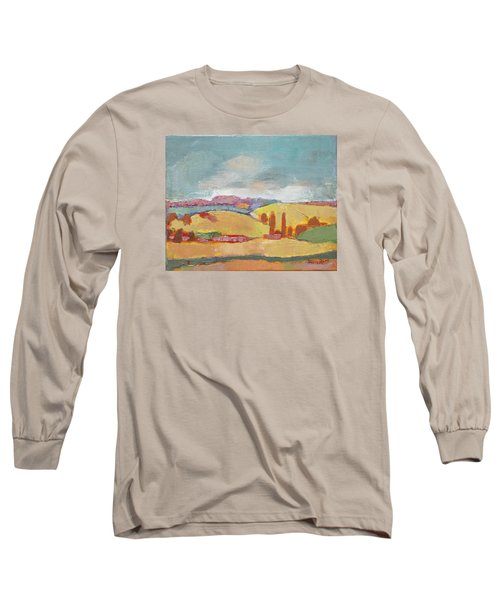 Home Land Long Sleeve T-Shirt by Becky Kim