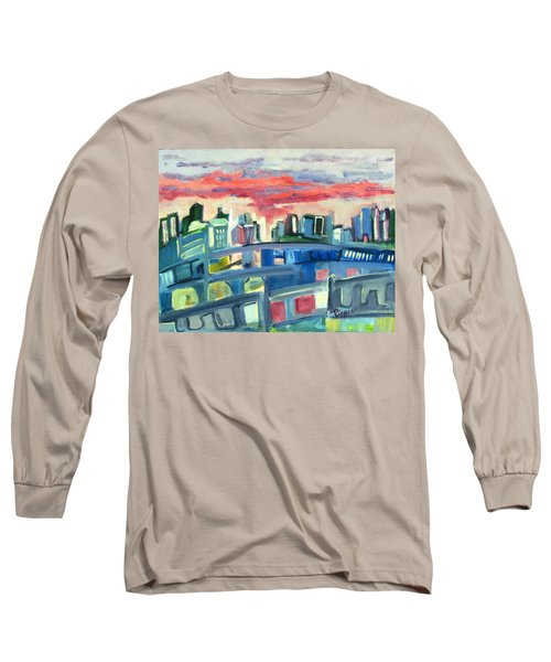 Home To The Softer Side Of City Long Sleeve T-Shirt