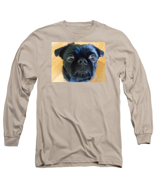 Long Sleeve T-Shirt featuring the photograph Honestly by Paula Brown