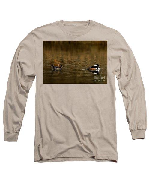 Hooded Mergansers Long Sleeve T-Shirt