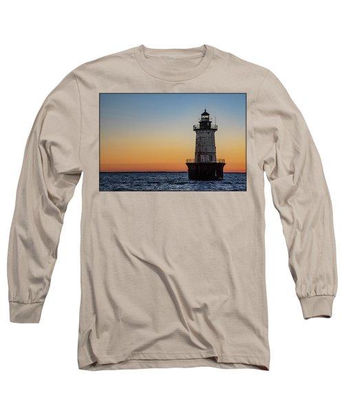 Hoopers Island Sunset Long Sleeve T-Shirt