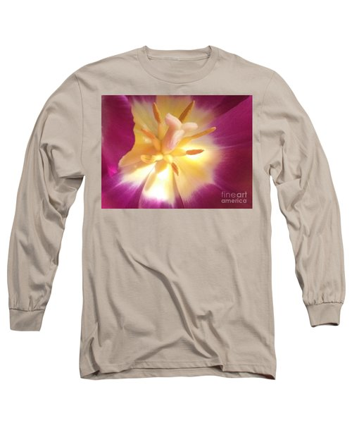 Long Sleeve T-Shirt featuring the pyrography Hope by Lori Lovetere