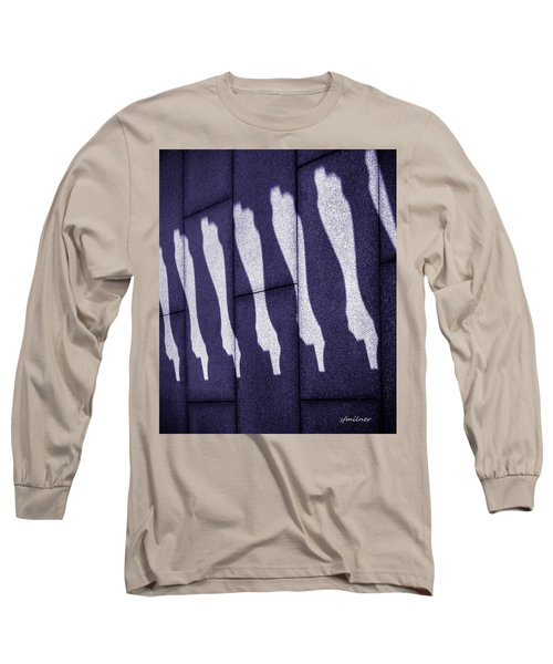 Horizontal Shadows Long Sleeve T-Shirt