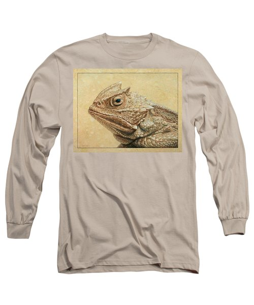 Horned Toad Long Sleeve T-Shirt