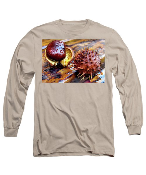 Horse Chestnut Aesculus Long Sleeve T-Shirt