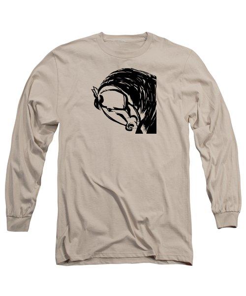 Horse Design A Long Sleeve T-Shirt