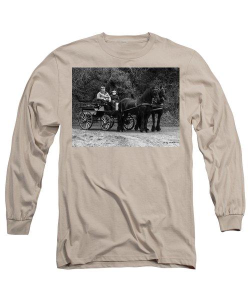 Horse Power Long Sleeve T-Shirt by Roy McPeak