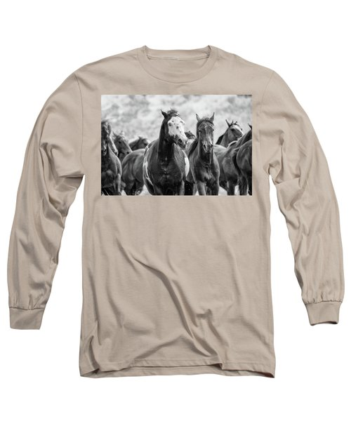 Horsepower Long Sleeve T-Shirt