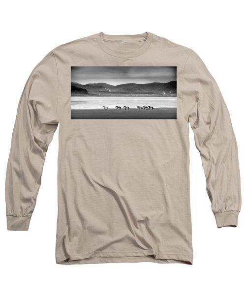 Horses, Iceland Long Sleeve T-Shirt