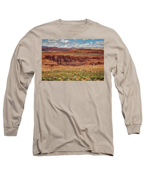 Horseshoe Bend Arizona #2 Long Sleeve T-Shirt by Jennifer Rondinelli Reilly - Fine Art Photography