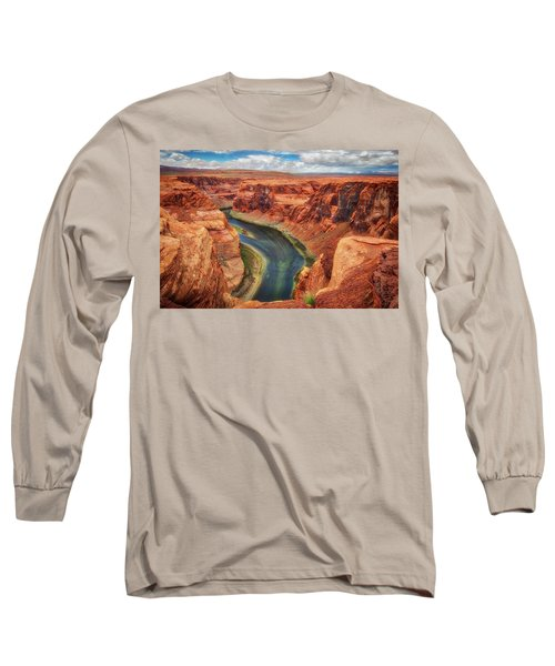 Horseshoe Bend Arizona - Colorado River #2 Long Sleeve T-Shirt by Jennifer Rondinelli Reilly - Fine Art Photography