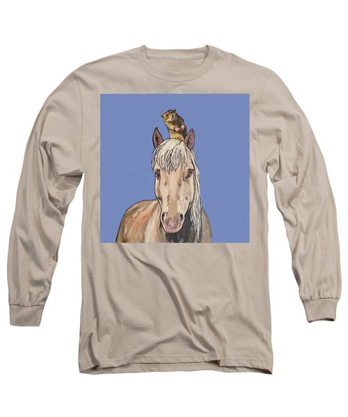 Hortense The Horse Long Sleeve T-Shirt