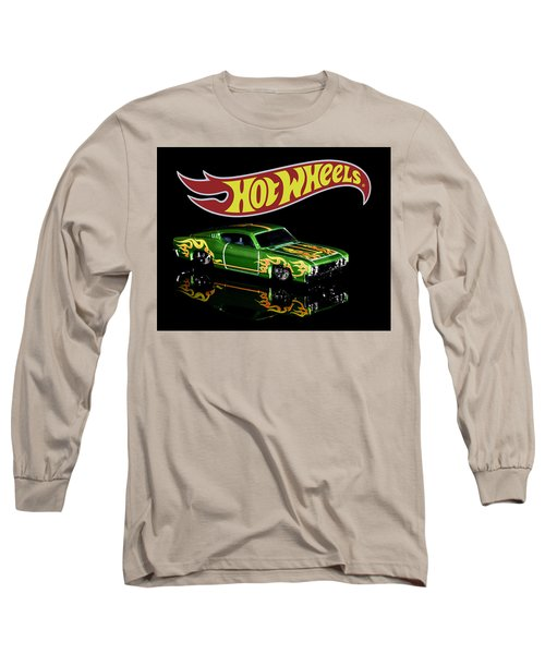 Long Sleeve T-Shirt featuring the photograph  Hot Wheels '69 Ford Torino Talladega by James Sage