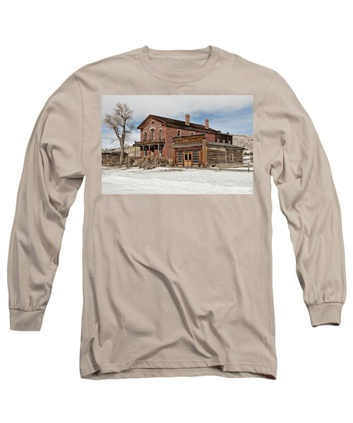 Hotel Meade And Saloon Long Sleeve T-Shirt