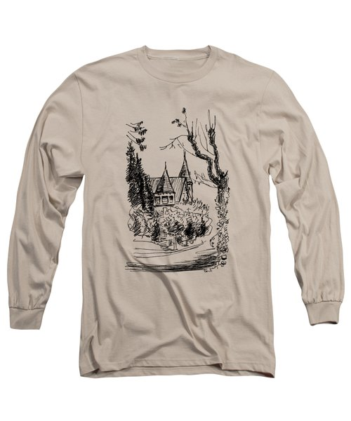 House In San Francisco Long Sleeve T-Shirt