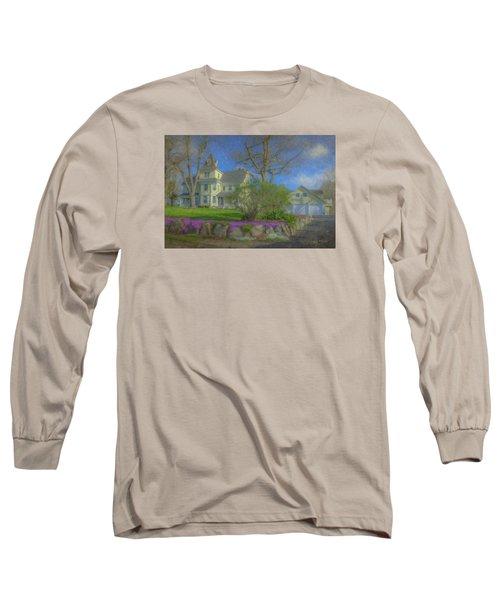 House On Elm St., Easton, Ma Long Sleeve T-Shirt