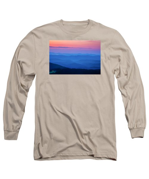 Long Sleeve T-Shirt featuring the photograph House With A View by Andrew Soundarajan
