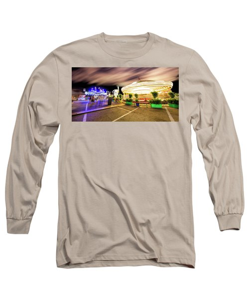 Houston Texas Live Stock Show And Rodeo #8 Long Sleeve T-Shirt by Micah Goff