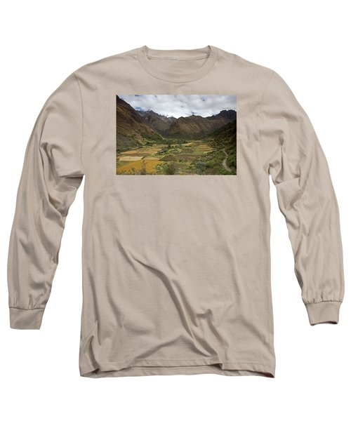 Huaripampa Valley Long Sleeve T-Shirt