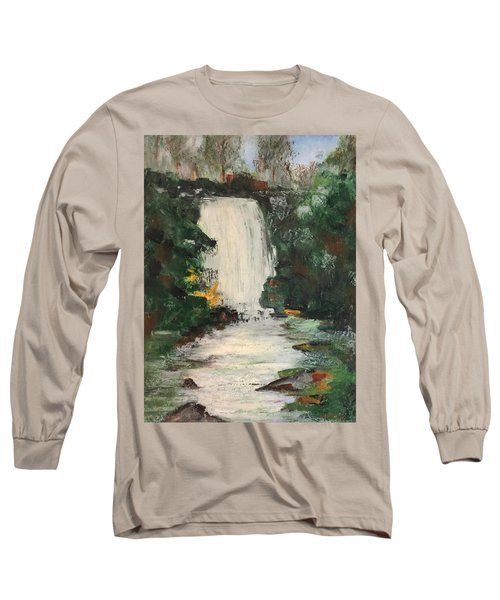 Long Sleeve T-Shirt featuring the pastel Huerquehue  by Norma Duch