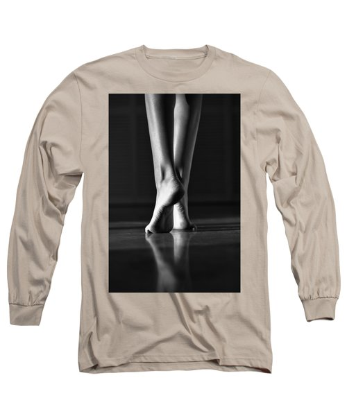 Long Sleeve T-Shirt featuring the photograph Human by Laura Fasulo