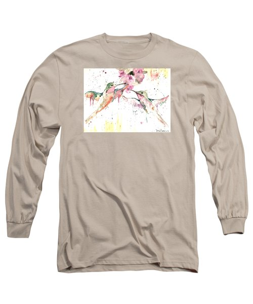 Hummers Long Sleeve T-Shirt by Denise Tomasura
