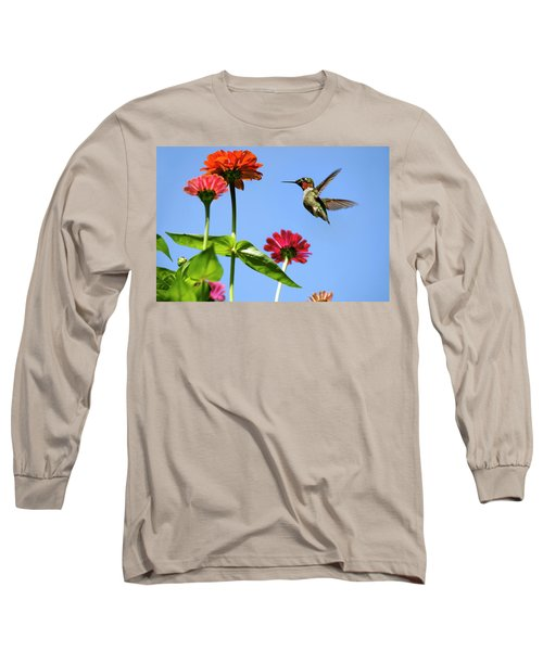 Hummingbird Happiness Long Sleeve T-Shirt
