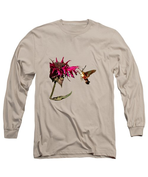 Hummingbird Moth 33 Long Sleeve T-Shirt